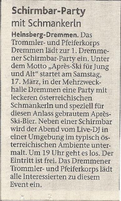 HS-Woche 07.03.2012
