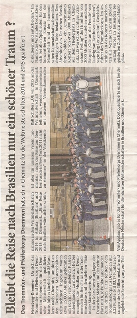 Heinsberger Volkszeitung 09.08.2013