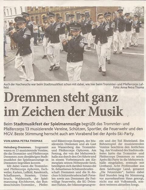 Heinsberger Volkszeitung 04.04.2014