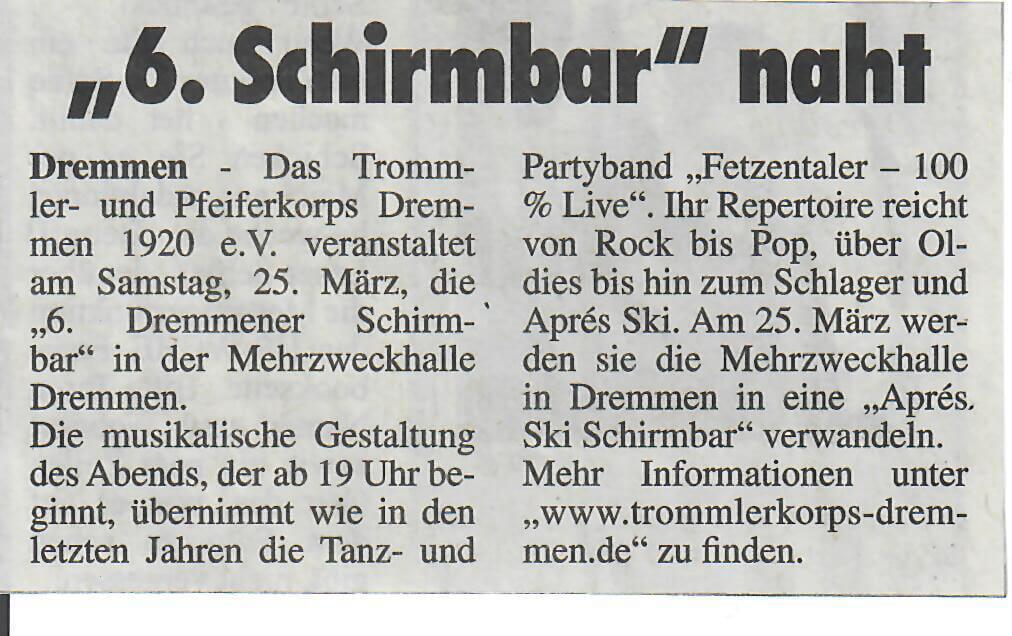 HS-Woche 08.03.2017