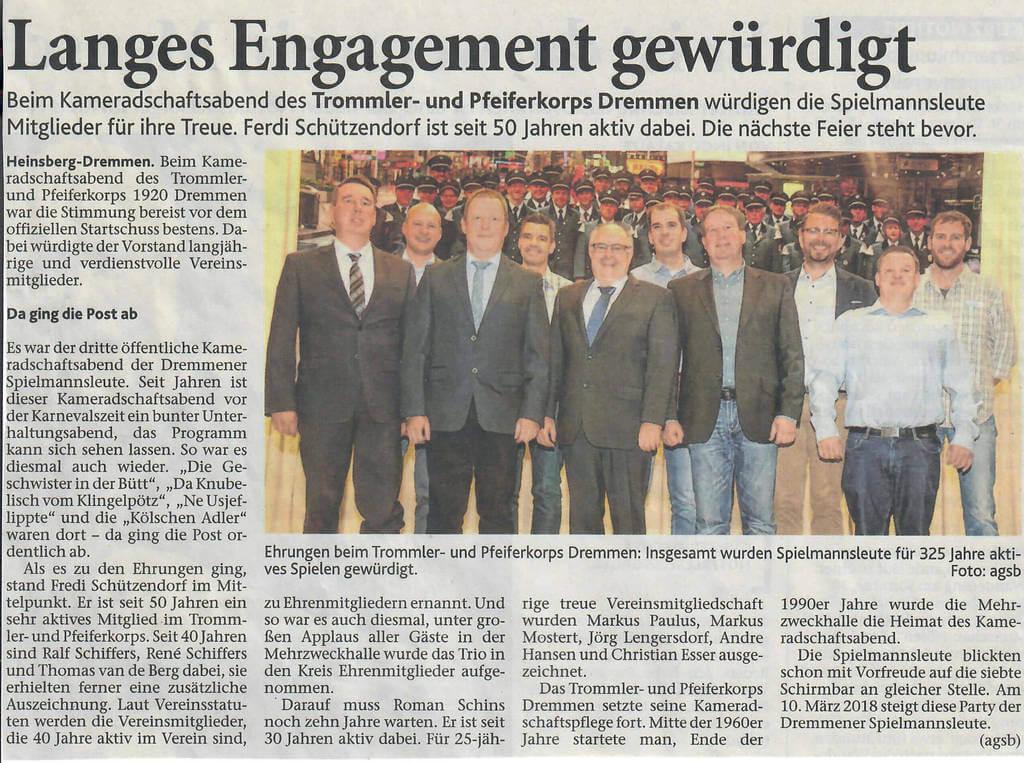 Heinsberger Volkszeitung 04.11.2017
