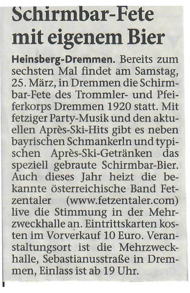 Heinsberger Volkszeitung 26.01.2017